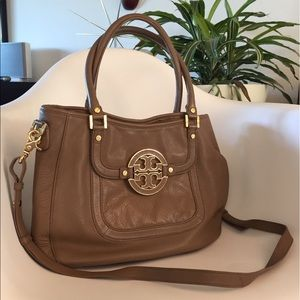 ❤️Tory Burch Amanda Hobo Handbag w/Crossbody Strap